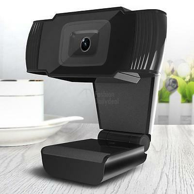 New 12MP HD Webcam Web Cam Camera with MIC Clip-on for Skype Computer PC Desktop