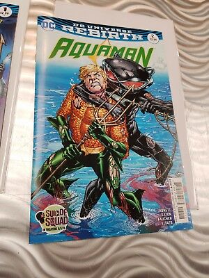 Aquaman #1 #2 DC Comics Rebirth NM