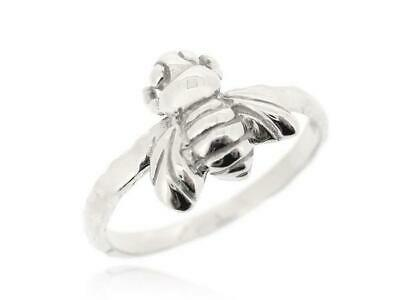 Sovats Silver Bumblebee Honey Bee Insect Finger Fashion Ring in Box Size 5-12