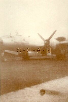 WWII Org Army Air Force (3.25 x 4.5) RP- Airplane- B-29 Bomber- 29th Bomb Group