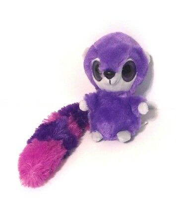 "Purple Ferret Big Eyes with long tail 8""  Zippidy Kids"