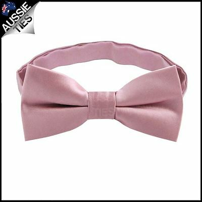 Blush Dusty Pink Boys Bow Tie