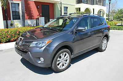 2014 Toyota RAV4 Limited Sport Utility 4-Door 2014 TOYOTA RAV 4 LIMITED, ONLY 28K MILES, IN EXCELLENT CONDITION, AUTOMATIC