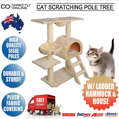 Cat Tower Scratching Post Pets Gym House Condo Pole Tree Furniture Scratcher New