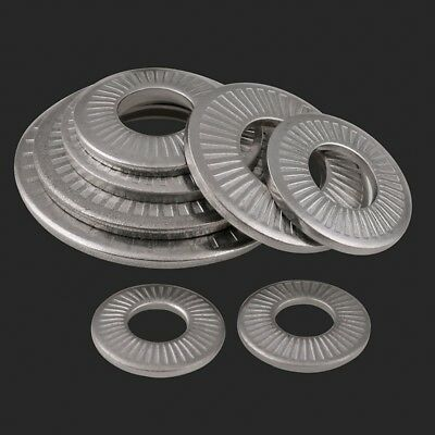 304 A2 Stainless Steel Butterfly Saddle Washers Anti-skid M3 M4 M5 M6 M8 M10 M12