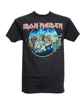 IRON MAIDEN - WASTED YEARS - Official T-Shirt - Metal - New M L XL
