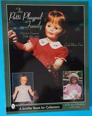 The Patti Playpal Family Identification & Price Guide Collectors Book - As New !