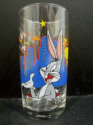 IXL Collectables Bugs Bunny Year 2000 promotional Glass vgc