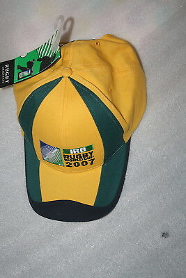 IRB Rugby World Cup 2007 Baseball Cap NWT Wallabies