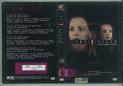 The X Files Collection Stagione 2 Volume 4 1993  Dvd Ottimo Usato