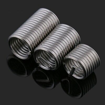 304 A2 Stainless Steel Insert Thread Repair Helicoil Compatible M2 M2.5 M3 M4 M5