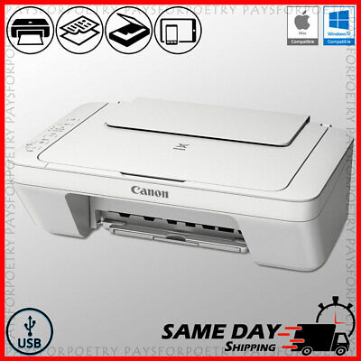 Canon Color Printer Compact All-in-One Copier Scanner + USB (ink not included)