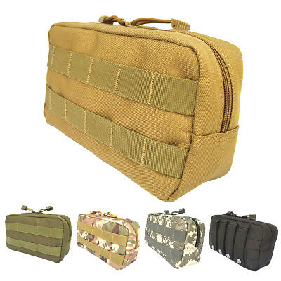 New Tactical Molle EDC Belt Outdoor Camping Emergency Survival Pouch Tools Bag