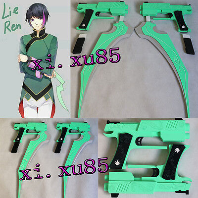 RWBY Lie Ren's Cosplay Prop Made From PVC High Quality New Type Free Shipping