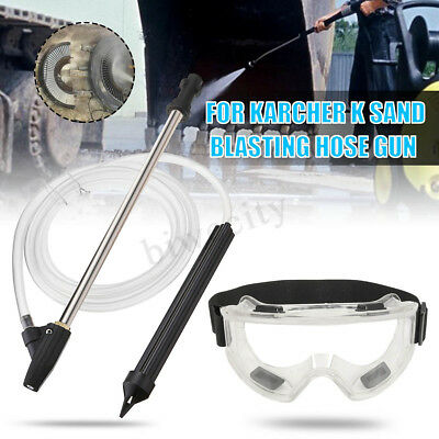 Sand Wet Blasting Blaster Sandblasting Pressure Washer Kit For Karcher K Series