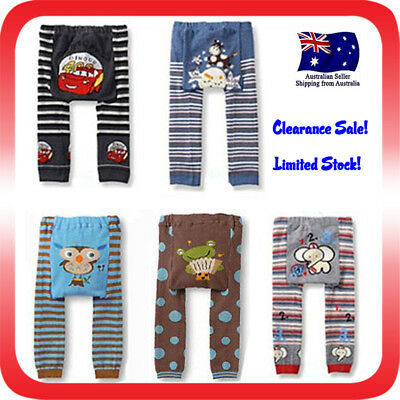 Baby Boys Girls Leggings Funky Pants Toddler Unisex Tights Winter Design 1 Pair