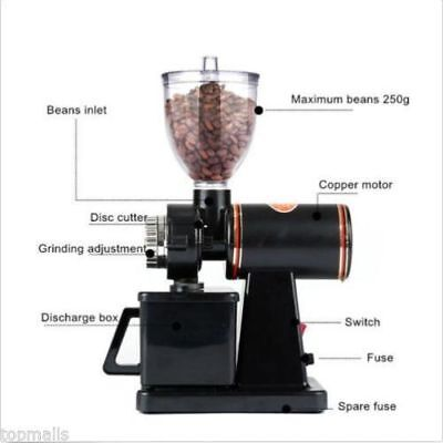 Coffee Grinder Household electric coffee bean grinder Small commercial grinder U
