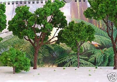 15 LARGE Trees assort 9 -16cm tall 1/87 1/32 1/35 1/48 all scale trains dioramas