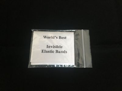 Worlds Best Invisible Elastic Bands Thread Loops Magic Trick Hand Made In Usa