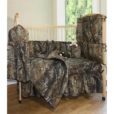 Baby Crib Skirt Breathable All Purpose Comfortable Machine Washable Camouflage