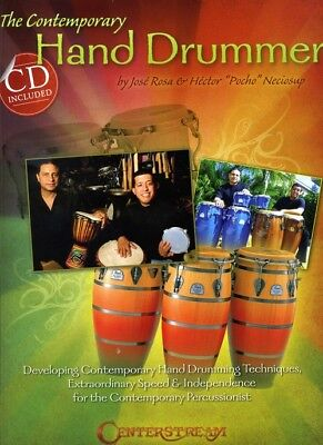 The Contemporary Hand Drummer - Drums - Score + CD