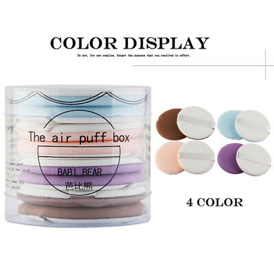 8pcs Air Cushion Puff Bb Cream Applicator Sponge Puff Facial Powder Makeup Tool