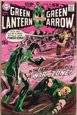 Green Lantern #77 - VG/FN - Neal Adams Art