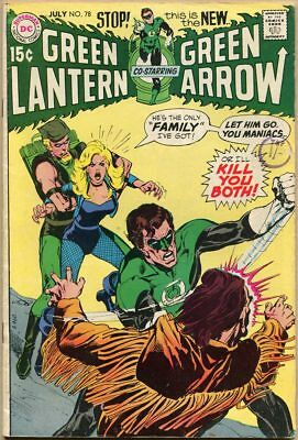 Green Lantern #78 - VG/FN - Neal Adams Art