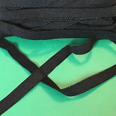 3m x 15mm Black Elastic #1091