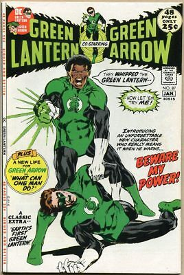 Green Lantern #87 - FN- - 1st Appearance Of John Stewart - Neal Adams Art