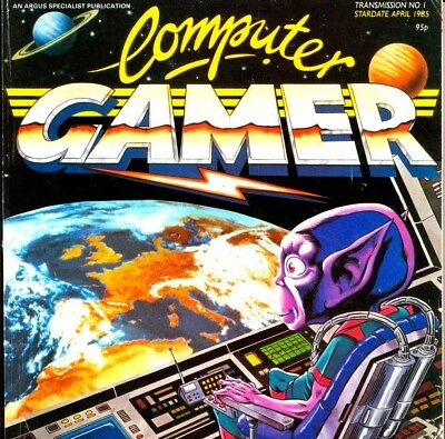 COMPUTER GAMER Magazines on DVD Vinatge Computing Magazine in PDF