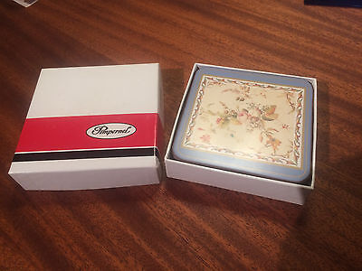 Pimpernel 6 Coasters Kilburn Chintz 9133 in Box - flowers - 4 inches