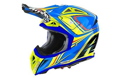 Airoh Aviator 2.2 Begin Gloss  Motocross Helmet Gold Stamped Approved