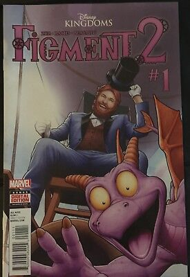 FIGMENT 2 ComIcs  #1- 5 Full Set  (MARVEL, DISNEY KINGDOMS, 2015) NM Lot of 5