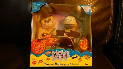 RUGRATS Tommy HALLOWEEN Collectible Doll NEW! Mattel 1999 Rare! FREE SHIP!