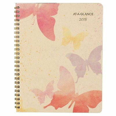 "AT-A-GLANCE Monthly Planner, January 2018 - January 2019, 6-7/8"" x 8-3/4"","