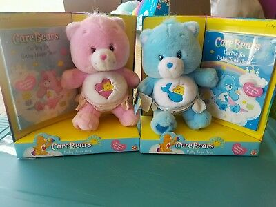 Baby Hugs And Tugs Care Bears With Book set of 2