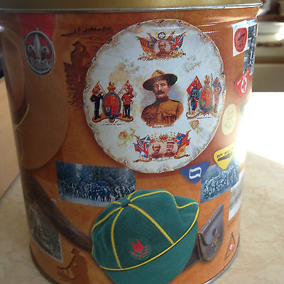 Boy Scouts Of Canada Souvenir Tin 100 Years