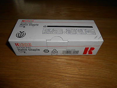 Genuine Ricoh PPC refill staples Type K,  410802, # 502R-AM. Free shipping