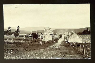TOMINTOUL Scotland  View of Main Street  c 1913  RP