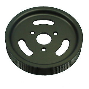 Cosworth YB 4x4 power steering  pulley hard anodized