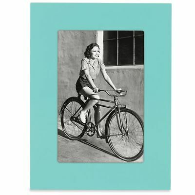 """Kate Spade New York Turquoise 4x6"""" Garden Drive Picture Photo Frame"""