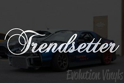JDM Lowered Stance Drift Turbo Boost NOS Under Construction V1 Decal Sticker