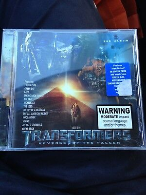 Transformers: Revenge of the Fallen Soundtrack CD, Linkin Park, Aus Seller,