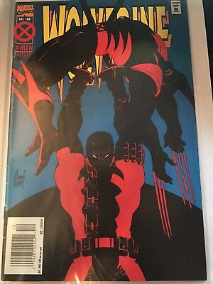 Wolverine #88 Deadpool Newsstand Variant