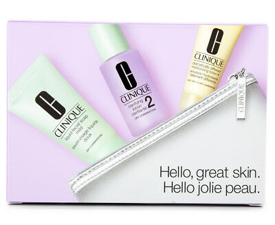 Clinique 3-Step Hello Great Skin Type 1 & 2 Set