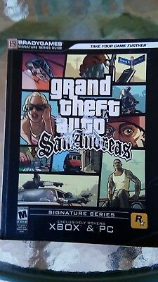 BradyGames Strategy Guide XBOX PC : Grand Theft Auto San Andreas