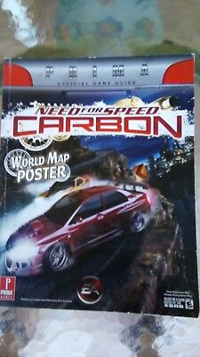 Prima Strategy Guide XBOX & 360 PC PS2 PS3 GameCube Wii: Need for Speed Carbon