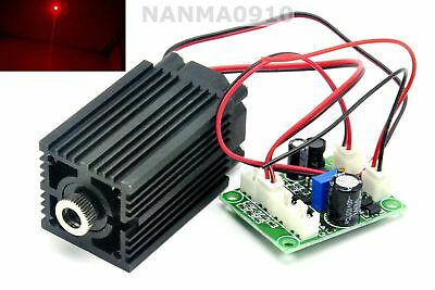 Focusable 635nm 638nm 500mW Orange-Red Dot Ray Laser Diode Module DC12V
