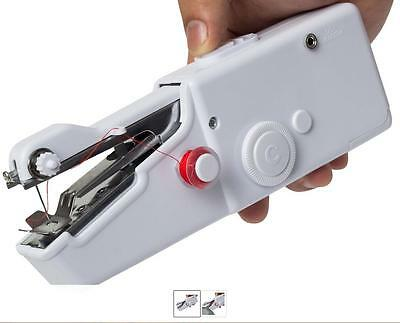 Hand Held Cordless Sewing Machine Quick Stitch Clothes Fabric for Traveling Hot